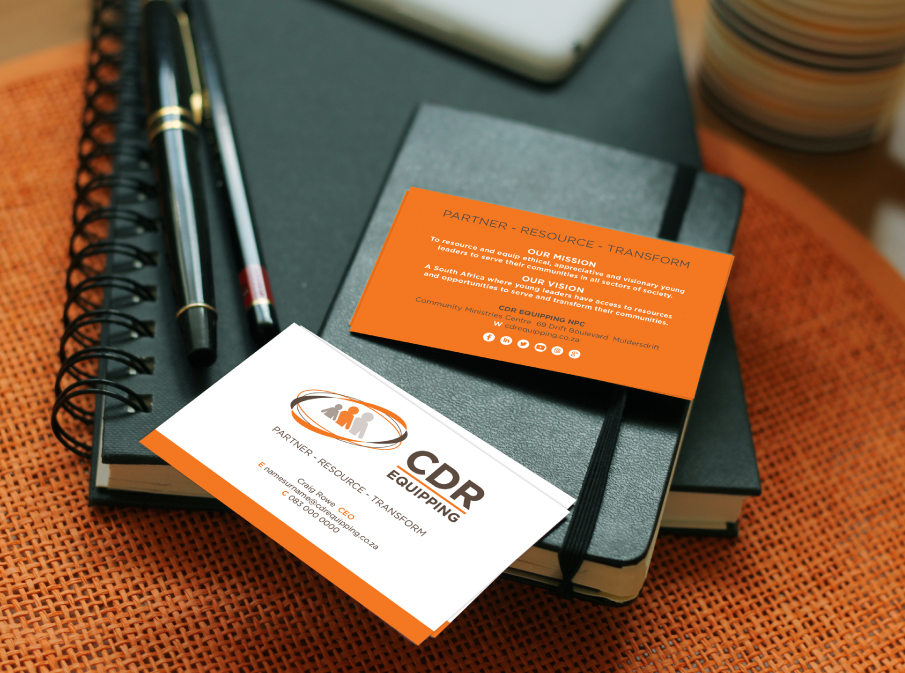 CDR Equipping Business Card