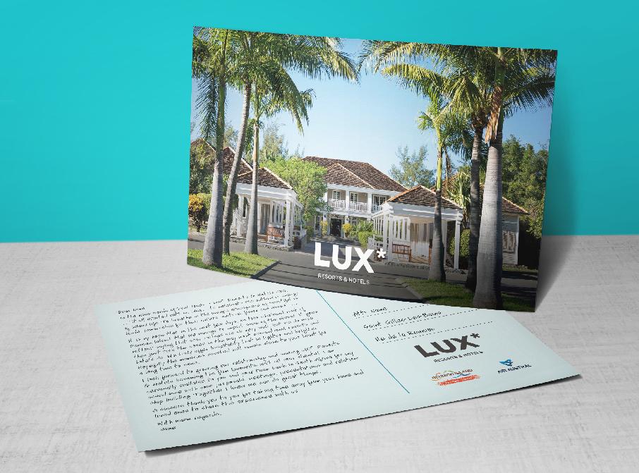 LUX* Postcard