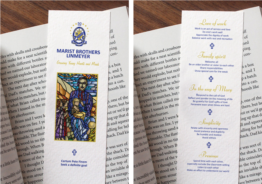 Marist-Brothers-Linmeyer-Bookmarks