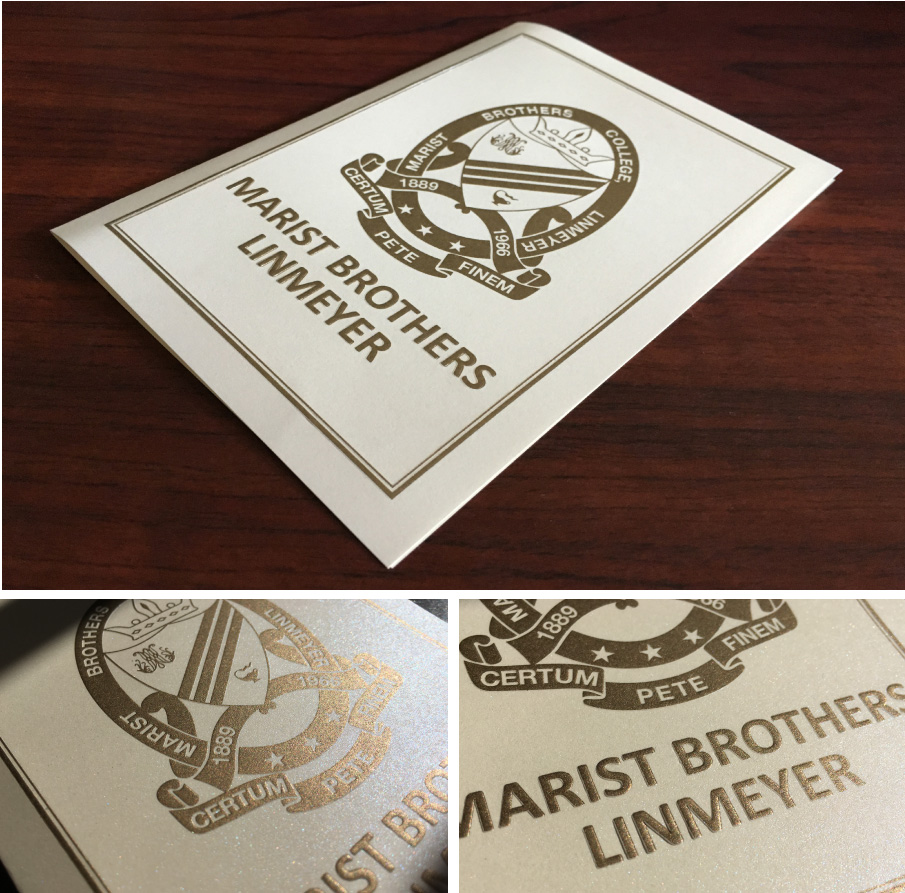 Marist-Brothers-Linmeyer-Embossed-Cards