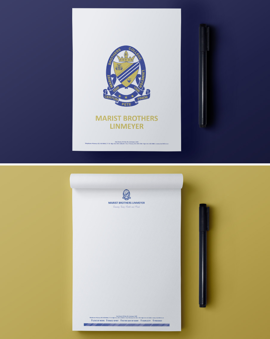 Marist-Brothers-Linmeyer-Notepads