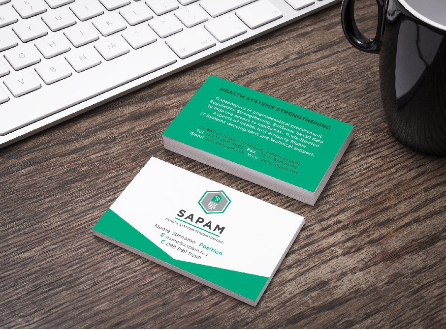 Re-Action! Consulting SAPAM Business Cards