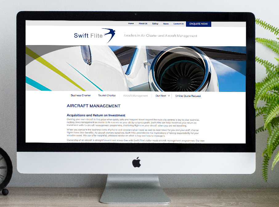 Swift Flite Website
