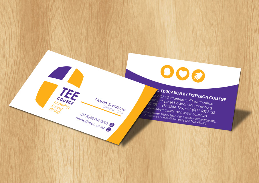 TEE-College-Business-Cards