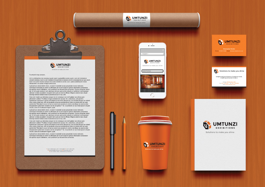 Umtunzi Exhibitions Logo Development